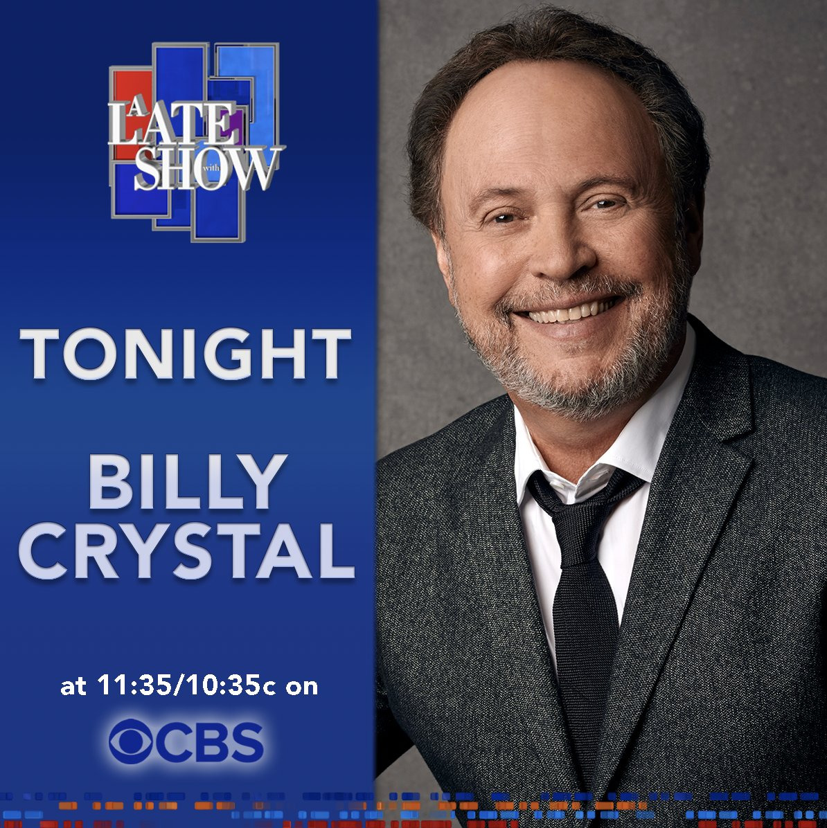 Look who is joining @StephenAtHome on #LSSC tonight! 🤩🤩 @BillyCrystal @RepSpeier