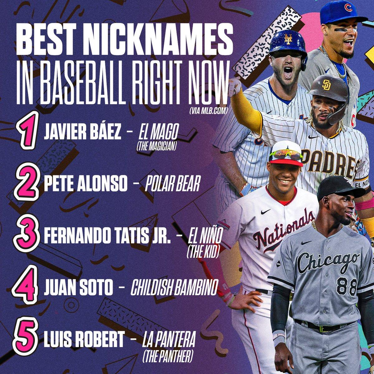 Replying to @Cut4: Sooooooo, what's the best nickname in baseball?