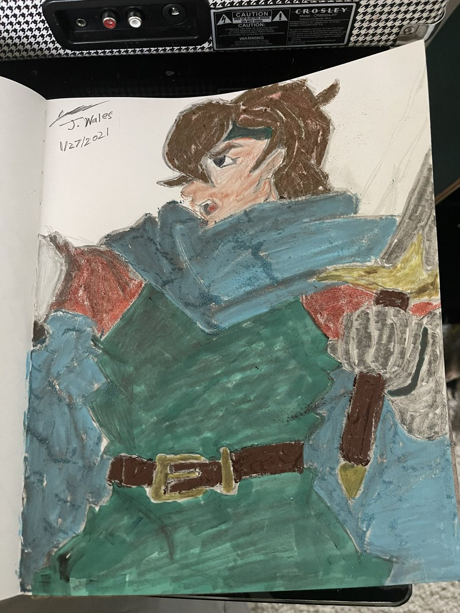 Max from shining force. A character that should be in smash and a franchise Sega and Camelot should work together to bring back #jordywales #max #shiningforce #fanart