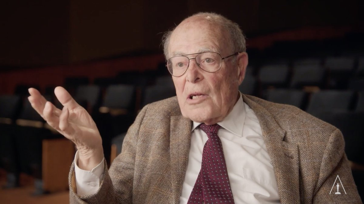 WATCH: In this excerpt from his 2017 Academy Visual History Interview, filmmaker Marcel Ophuls describes how, at age five, he learned about the impact of the Nazi regime on his family. #HolocaustRemembranceDay