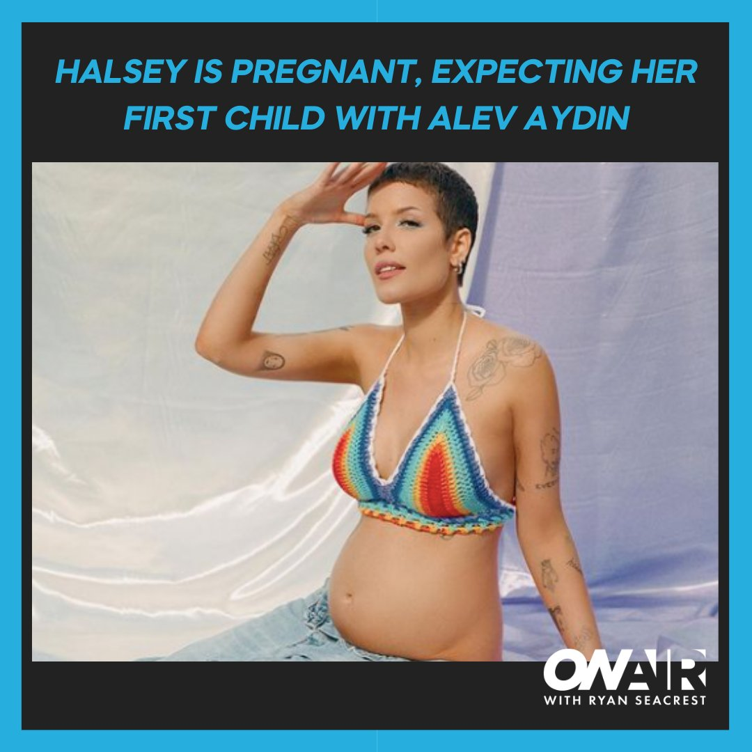 Surprise! #Halsey is pregnant! See her sweet announcement and get all the details here: