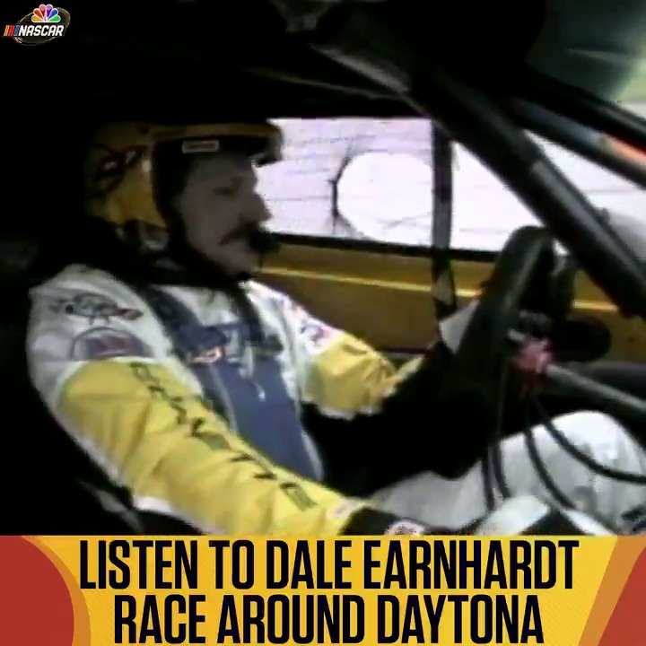 """No commentary, just Dale Earnhardt.  Listen as the """"Intimidator"""" races around @Daytona in the 2001 Rolex 24. https://t.co/x8Q6K4rr6s"""