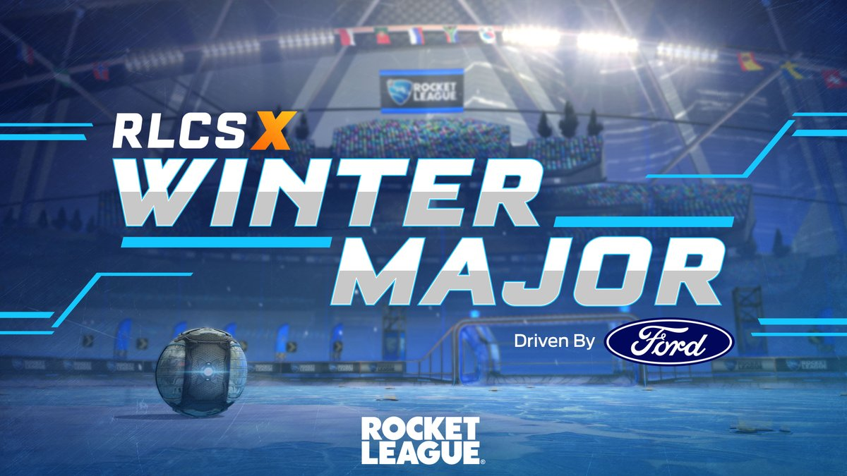 A sponsorship that's built on a passion for performance.   We're proud to announce that @Ford will be driving the #RLCSX Winter Majors.   Read here 📰:
