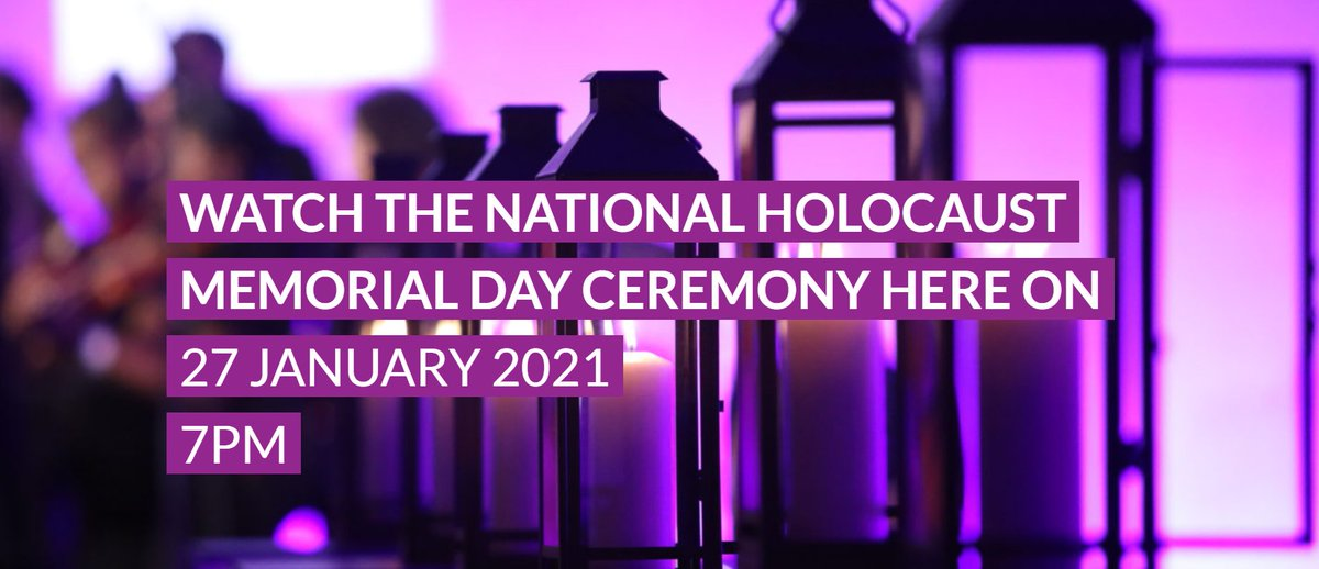 Tune in from 7pm tonight to hear from our Director, Alphonsine Kabagabo @AKabagabo, who will be honouring this year's #HolocaustMemorialDay theme of #LightTheDarkness alongside other survivors of genocide.