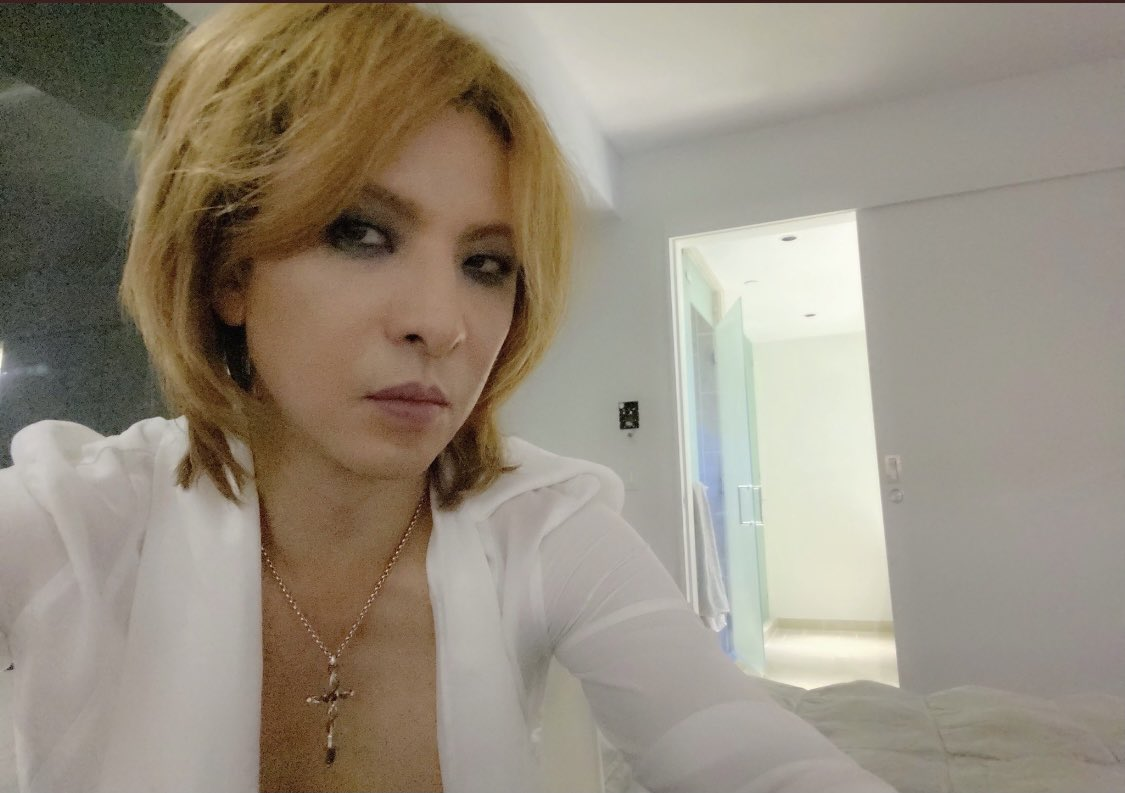 @YoshikiOfficial @marilynmanson @TheChainsmokers @st_vincent @NicoleScherzy @scorpions @SarahBrightman @SUGIZOofficial @HydeOfficial_ @LindseyStirling @JaneZhang @YouTube Good morning 🤗🌹❤️🖤🌹🤗 MrYoshiki 🤗🐍👽🤴🧛🎹🥁🎺 #YOSHIKI #UnderTheSky  #YouTubeOriginals   Fine thank you and  🥰🌹🙏❤️🖤🌹🙏🥰  Stay home by refraining from going out  🙂🌹🏠🤲❤️🖤🌹🏠🤲🙂  Please do your best work  🥰🌹✨💪❤️🖤🌹✨💪🌹🥰  good luck 😉🤞❣️ kazu和 🥰🌹🐗🌈❣️