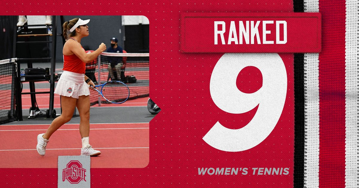 🔝🔟 The Buckeyes are No. 9 in the @ITA_Tennis rankings this week!   #GoBuckeyes #OracleITARankings