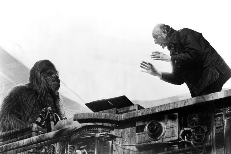 Wookiee talk #behindthescenes #filmmaking #theempirestrikesback #starwars 🎥