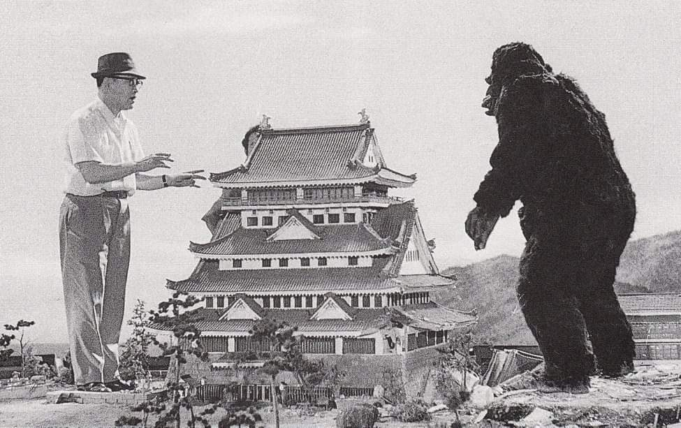 #movie #ape #tokyo #scifi #Throwback #BehindTheScenes King Kong Escapes 1967