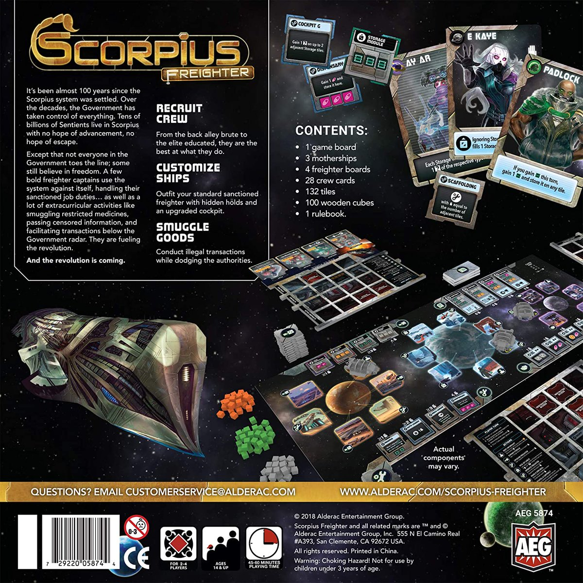 Scorpius Freighter for 58% off.  Under $25.  #ad  TGDrepost