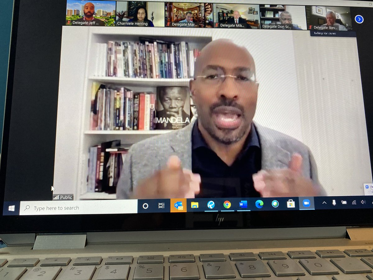 @VanJones68 Thank you and Reform Alliance for supporting true justice reform by allowing people to not go to straight to jail for having committed o new criminal offense. Your testimony today on the bill was very much appreciated.