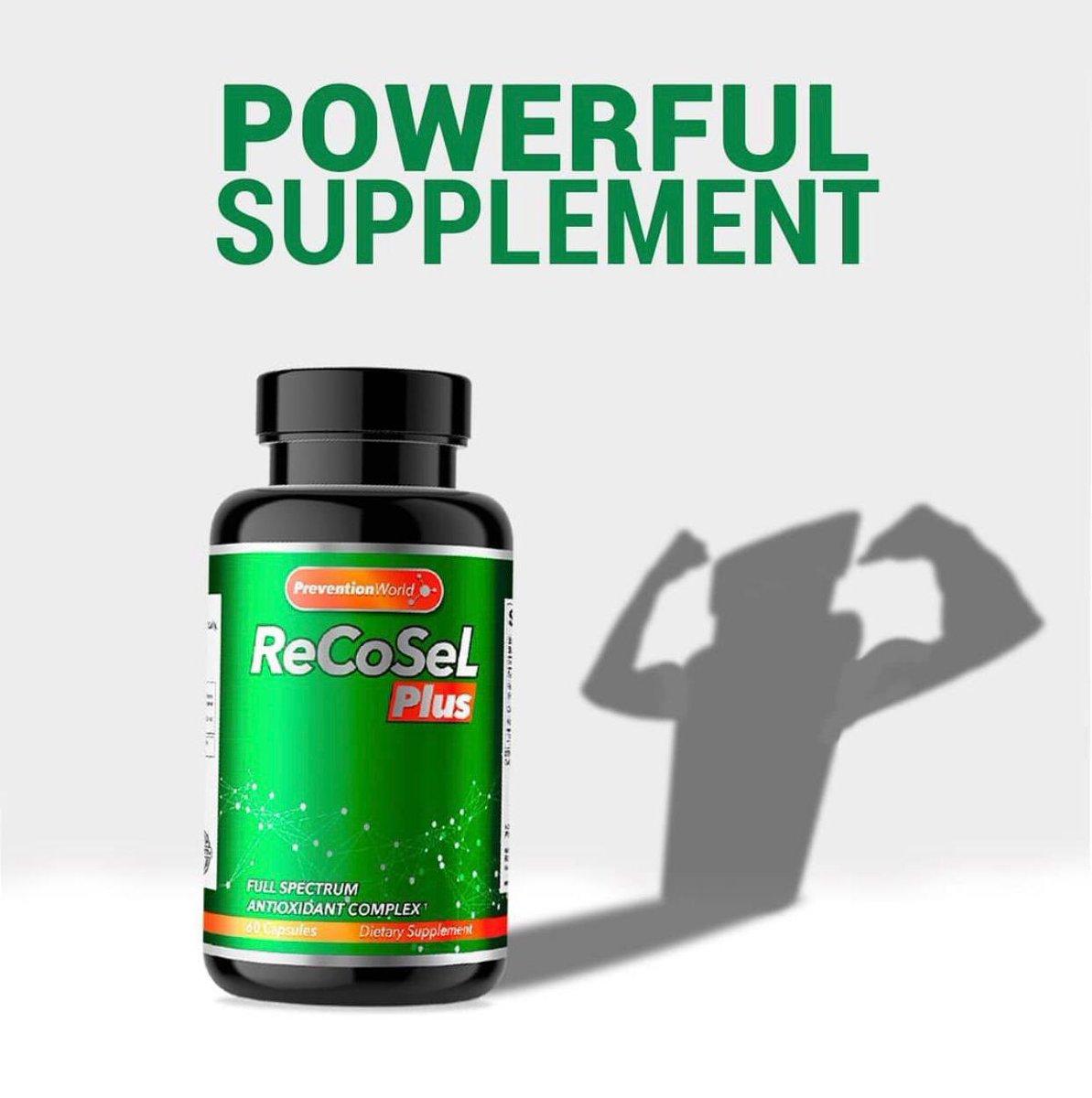 https://t.co/hVhAazIELk @recosel #antioxidants #Amazon #PreventionIsBetterThanCure #prevention #healthyliving #healthylifestyle #antioxidantsupport #antioxidantesnaturales https://t.co/mMaXZ9ffse