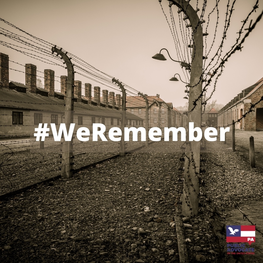Today is #holocaustremembranceday   76 Years Ago Today, Auschwitz-Birkenau was liberated. An estimated 11 million people died as a result of the #holocaust - with an estimated 6 mil. being Jewish.  #WeRemember #HolocaustMemorialDay #LightTheDarkness