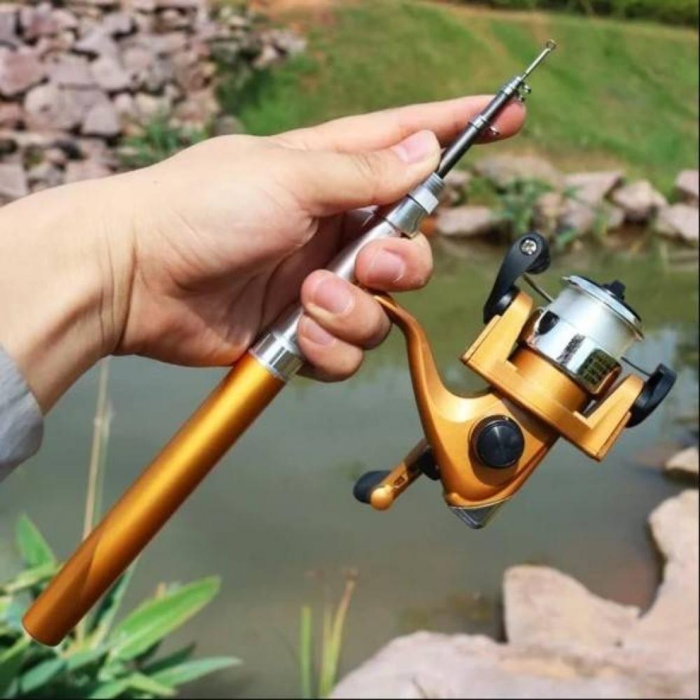 Pocket Fishing Rod $ 20.00   #buyandroll #style #bestshopping #shoppingdaily