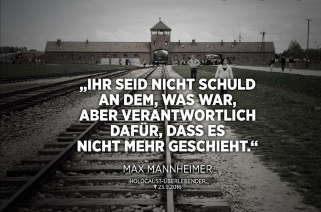 It doesn't start with the gas. It started with people talking about WE against THEM.  it startet with INTOLERANCE and speeches full of HATE.  It startet with burning homes  IT STARTET WITH PEOPLE WHO CLOSED THEIR EYES AND HEARTS  #NeverForget #NeverAgain #HolocaustRemembranceDay