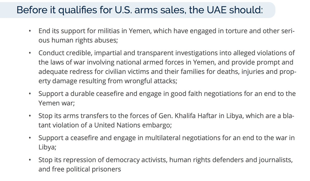 There is a long list of homework that #UAE needs to accomplish, but in a nutshell it is listed so:
