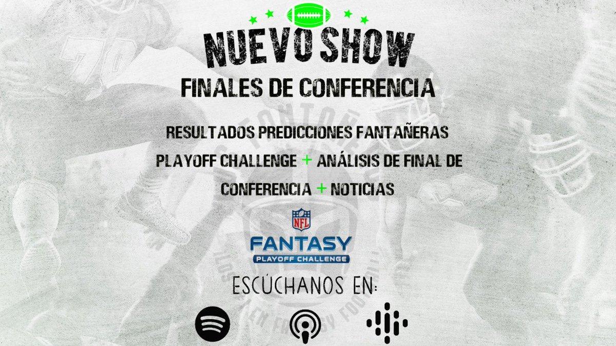 🚨Capítulo de estreno!! 🚨Análisis de Finales de Conferencia de la #NFL + los resultados de todas nuestras predicciones de #FantasyFootball para esta temporada y mas!! #podcasts #FantasyFootballAdvice