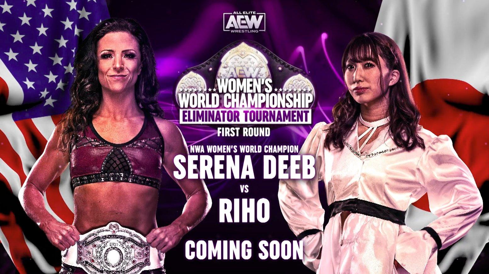 Riho volverá a AEW Dynamite.