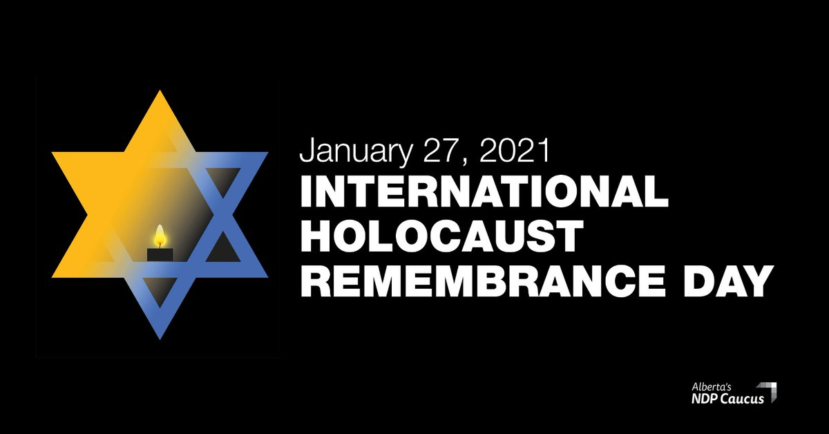 Today we mourn the more than six million Jews murdered during the Holocaust and the millions of other victims of Nazi atrocities. We stand with survivors, recognizing the horror they endured.   We must never forget.  #NeverAgain #WeRemember