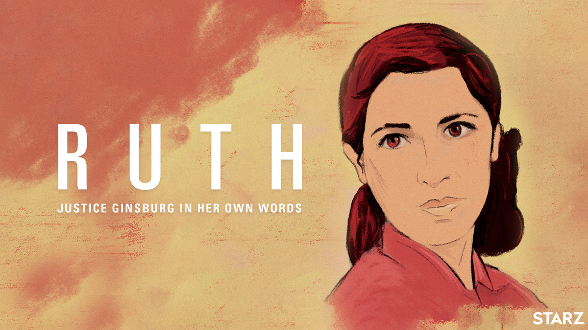 We're thrilled to announce Ruth: Justice Ginsburg In Her Own Words comes to #STARZ on March 1! Tag your watch partner, because this can't be missed!