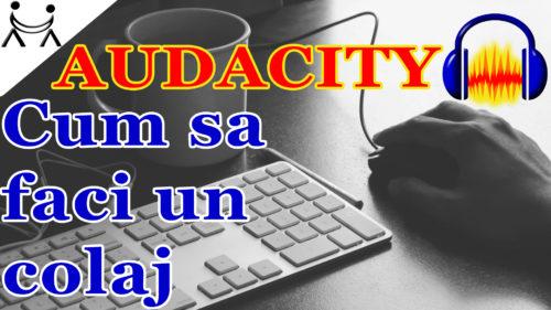 Cum sa faci un Colaj de Melodii | Cum faci un mix / combini / unesti  #audacity #diy #muzica #programdeeditatmelodii