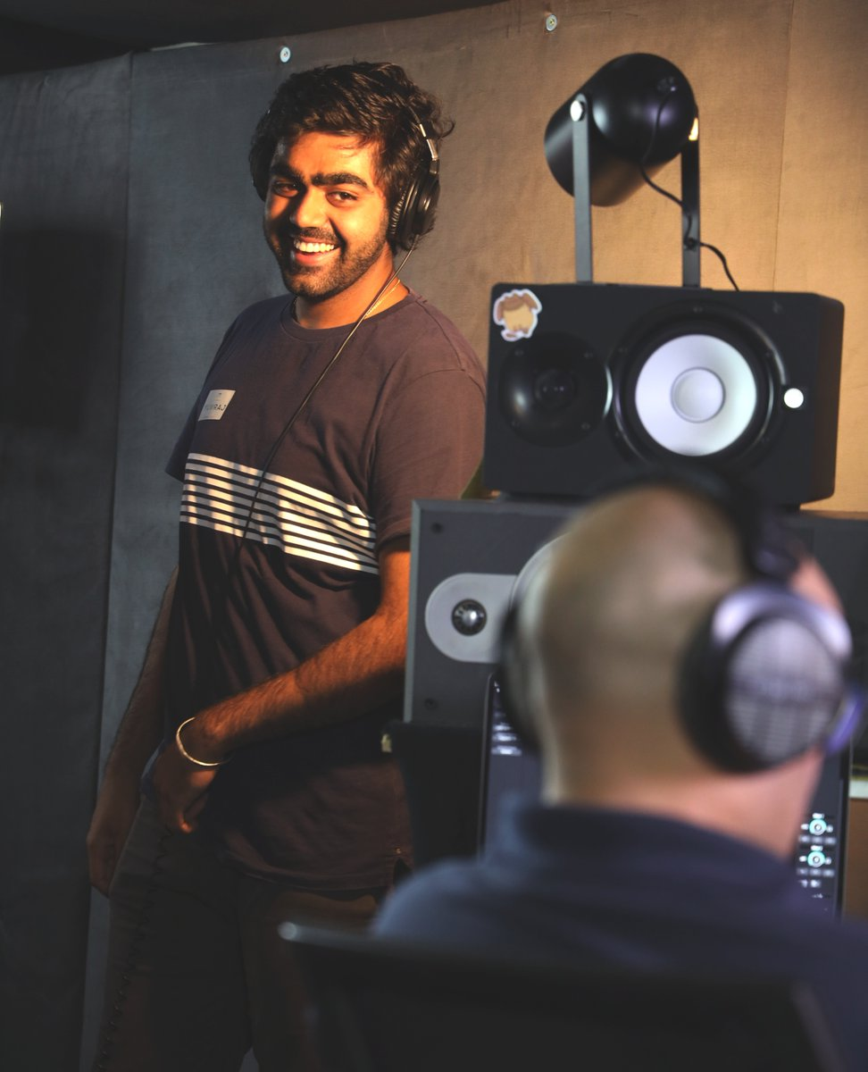 Our student Yuvi having an amazing time in the studio and working with Phil and all our amazing students in preparation for something awesome.  #singing  #warmups #onlinelessons  #neverbreakmedown #newsong #2021 @yuvi_singhs #behindthescenes #studio #studiorecording