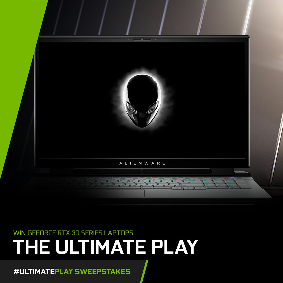 Today's #UltimatePlay Laptop Spotlight: The #Alienware m17 R4   Key Features:   ⚪ NVIDIA GeForce RTX 30 Series GPU ⚪ 360 Hz Display ⚪ 2933 Mhz DDR4 Memory   Want a chance to win it?   1. RT this post 2. Tell us your favorite video game Alien in the replies w/ #UltimatePlay!