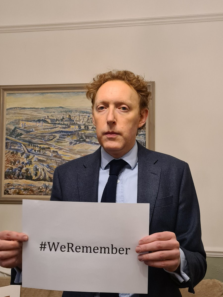 Our Chief Executive Michael Newman supports the World Jewish Congress campaign to ensure the lessons of the Holocaust are never forgotten. #WeRemember