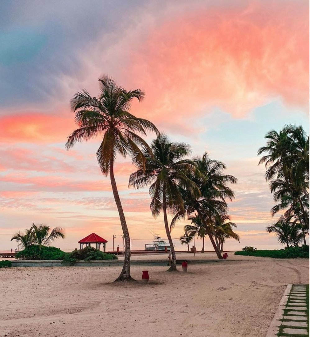 """test Twitter Media - """"January sunsets in Belize."""" Excited to see this in person? #travelbelize  IG📸: grandcaribebelize https://t.co/MKMIHeznIM"""