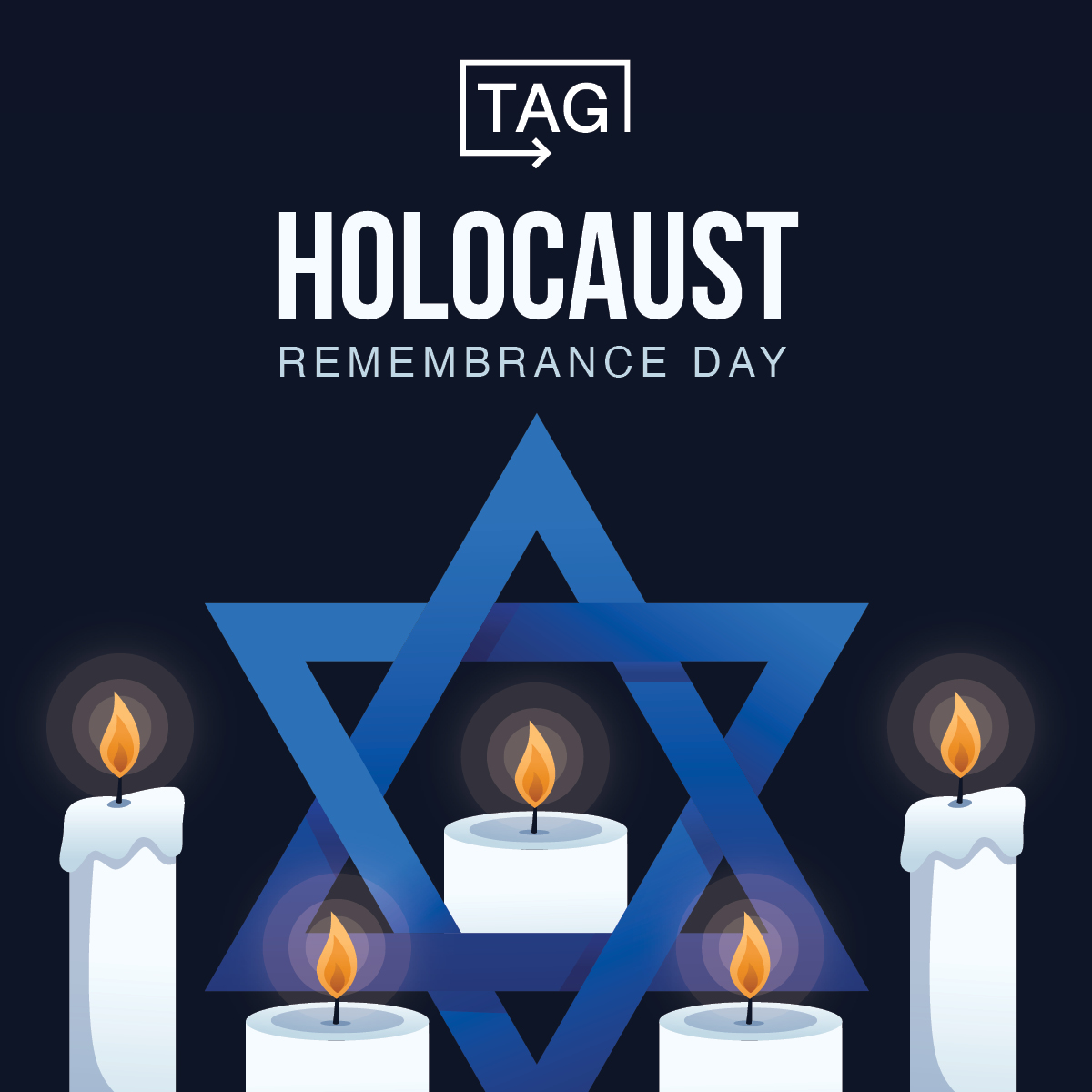 On this day, #WeRemember the 6 million lives that were lost to evil, hate, and bigotry. We honor them by sharing their stories and recommitting ourselves to standing against anti-semitism, prejudice, and intolerance. #HolocaustRemembranceDay