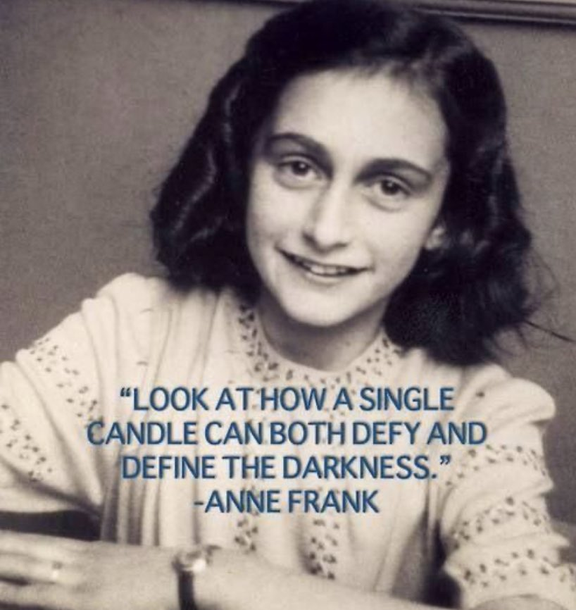 #HolocaustRemembranceDay Be the light. Use your voice. 💛#SHINE 🌞🌞🌞 Love. @AllianceCSD @shesthefirst