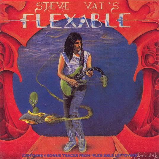 #NP: #NowPlaying:   Steve Vai - 'Flex-Able' (1984) (1988 remaster)   This is #SteveVai's solo debut album. A wonderful collection of #guitar and #song extravaganza. I love it.  @Albums2Hear