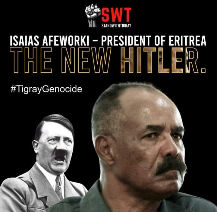 """#WeRemember #HolocaustRemembranceDay #HolocaustMemorialDay Prevent another #genocide in #Tigray #Ethiopia. """"Those who can't remember the past, are condemned to repeat it."""" #TigrayGenocide #TigrayCantWait #Eritrea"""
