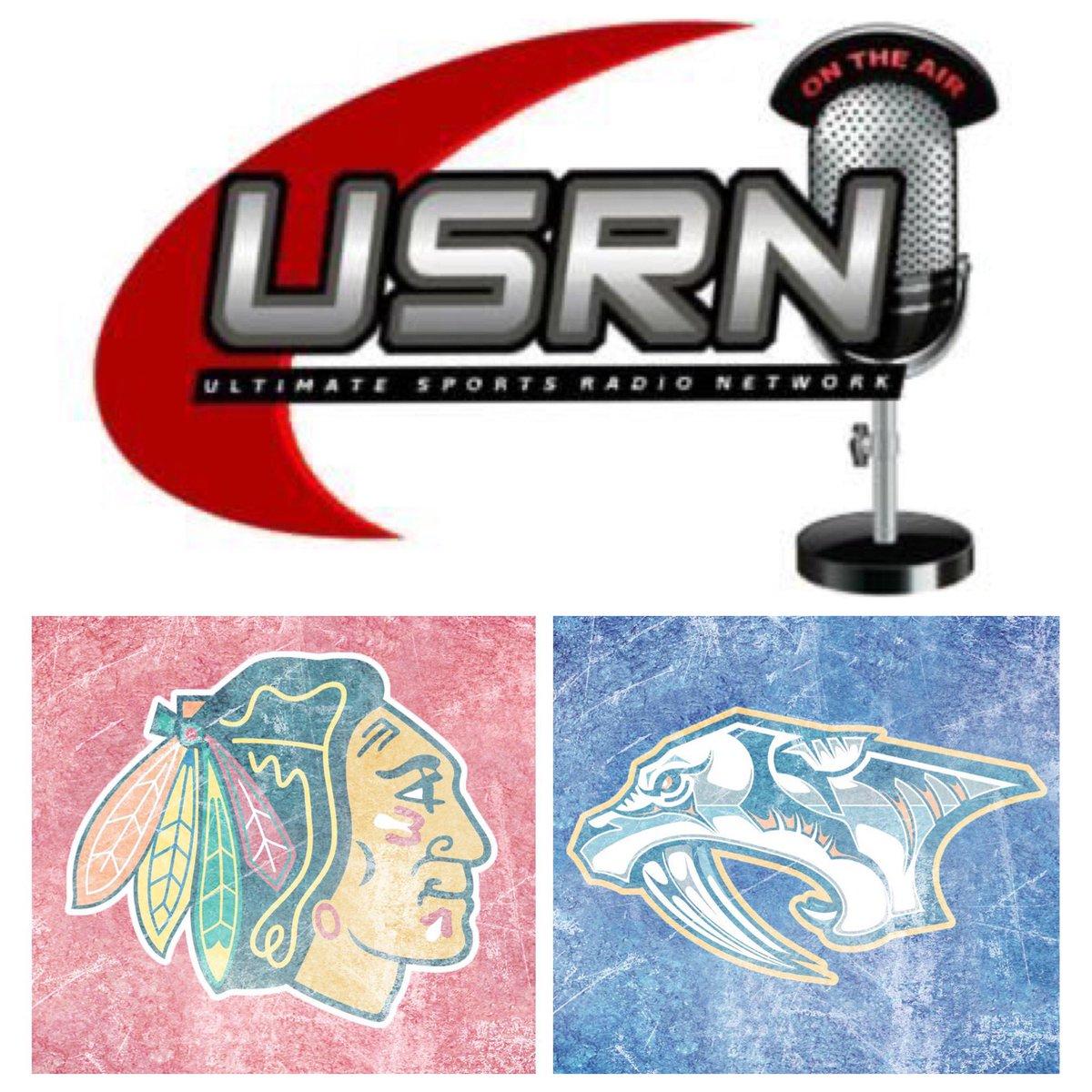 Next Up: WED 1/27 4:30pm PST/7:30pm EST Live Call: #NHL: #Blackhawks @ #Predators on #USRN2 #CHIvsNSH #Blackhawks#Preds #USRN #UltimateSportsRadioNetwork @USRNRadio