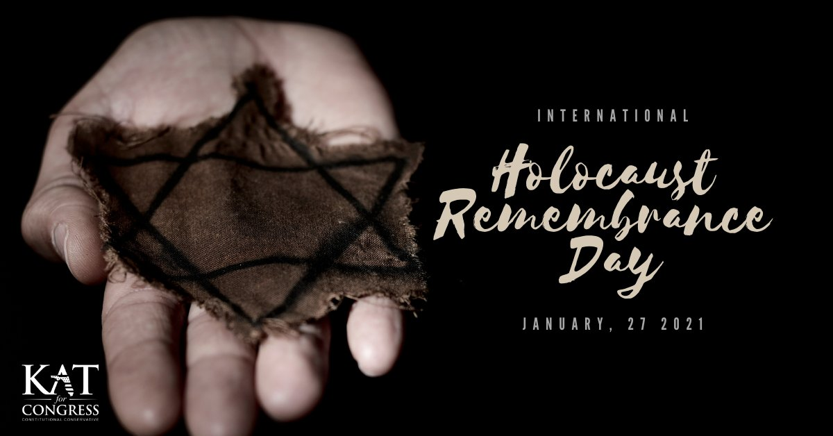 Today we pause to remember the millions of lives lost during the Holocaust.   I stand with my Jewish brothers and sisters for freedom, today and always. To honor these lives, we must take action to combat antisemitism in all we do.   #HolocaustRemembranceDay