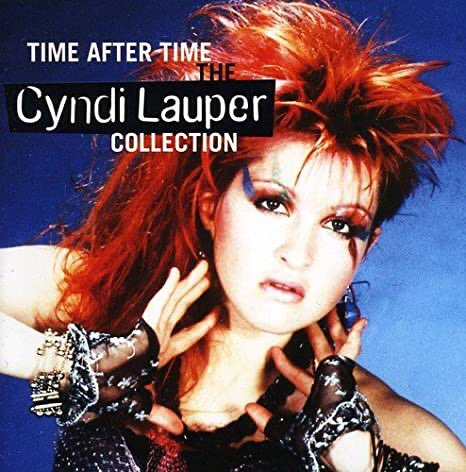 Love it! Such an iconic song #TimeAfterTime One of my favourite songs to sing along. Thank you @cyndilauper for giving us great music. #Legend 😘👍🏼✨🎤✨ 'Keep on singing on' #KeepOnSingingOn 🙌✨😃✨🎤✨@cyndilauper