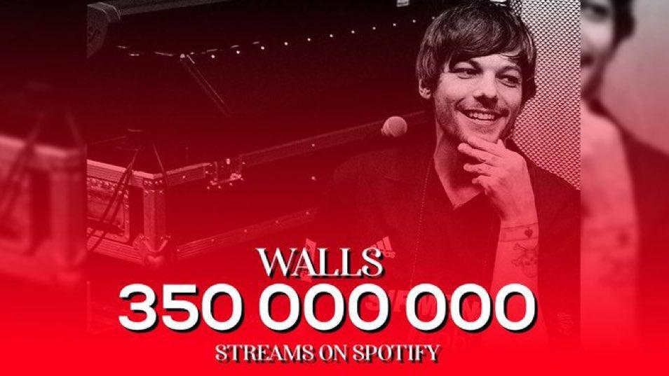Walls es arte, la voz de Louis es  única y diferente. Un verdadero artista ✨  PROUD OF LOUIS #WALLS350M