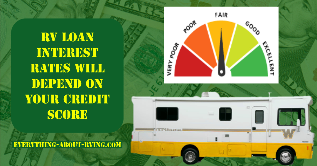 RV Loan Interest Rates Will Depend on Your Credit Score: Your RV Loan will be affected by your current credit score... Read More: https://t.co/UWNH9Az4fJ  #rvloan #rving #rv #rver #camping #gorving #outdoors #leisure #camp #travel #rvingtips #rvhacks https://t.co/tMvVXMX6R8