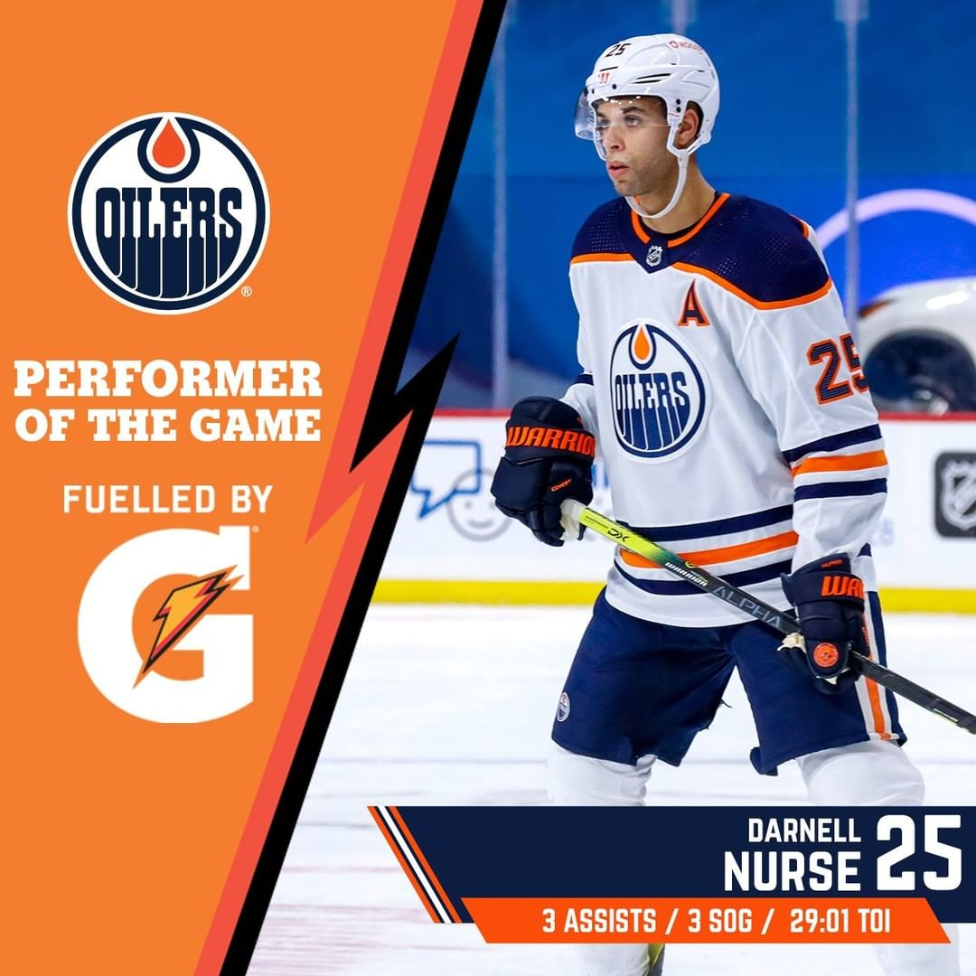 #Edmonton #Oilers: Nurse factored in on every ##Oilers goal, racking up three assists ...       #Alberta #EdmontonOilers #FuelledByG #Hockey #IceHockey #LetsGoOilers #NationalHockeyLeague #Nhl #NHLWesternConference #NHLWesternConferencePacificDivision