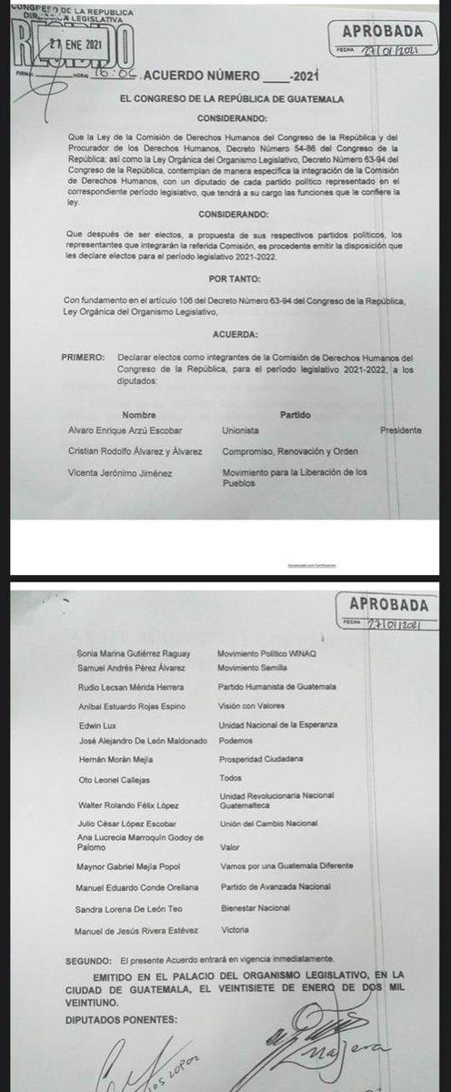 test Twitter Media - Así quedó integrada la Comisión de Derechos Humanos del Congreso. https://t.co/Ytm7OT7i2y
