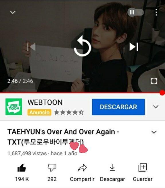 Hola! paso a  recordarles sobre el proyecto #TaehyunStreamingParty! La meta son 2M escuchenlo varias veces al dia, ya que esto es para  #Taehyun 💕 #태현 #투모로우바이투게더 @TXT_members @TXT_bighit