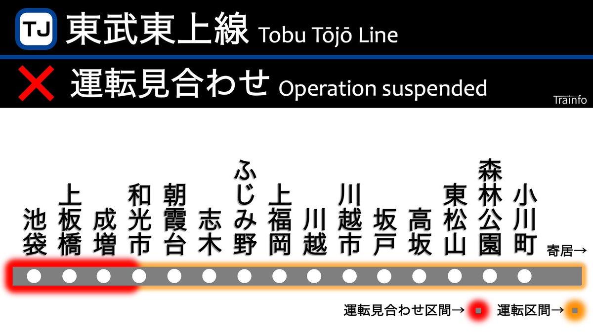 上線 事故 東 リアルタイム 東武