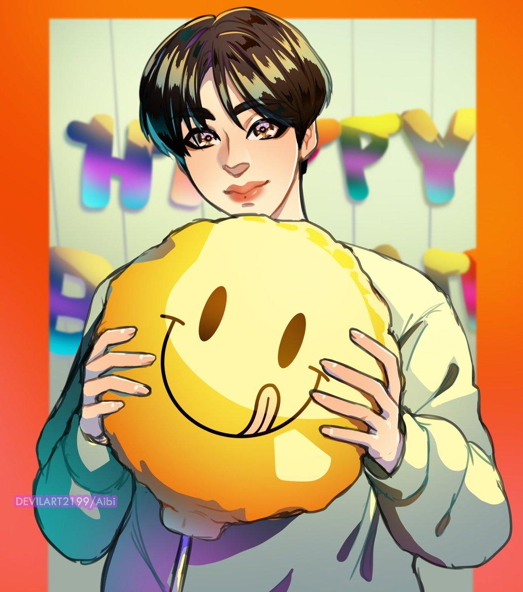 Happy Belated Birthday Wonnie 🐢🎂 #monstaxfanart #몬스타엑스 #HBDtoHYUNGWON#HYUNGWON #형원이란_다정함이_내린_날 #형원 #NobodyElseButHyungwon