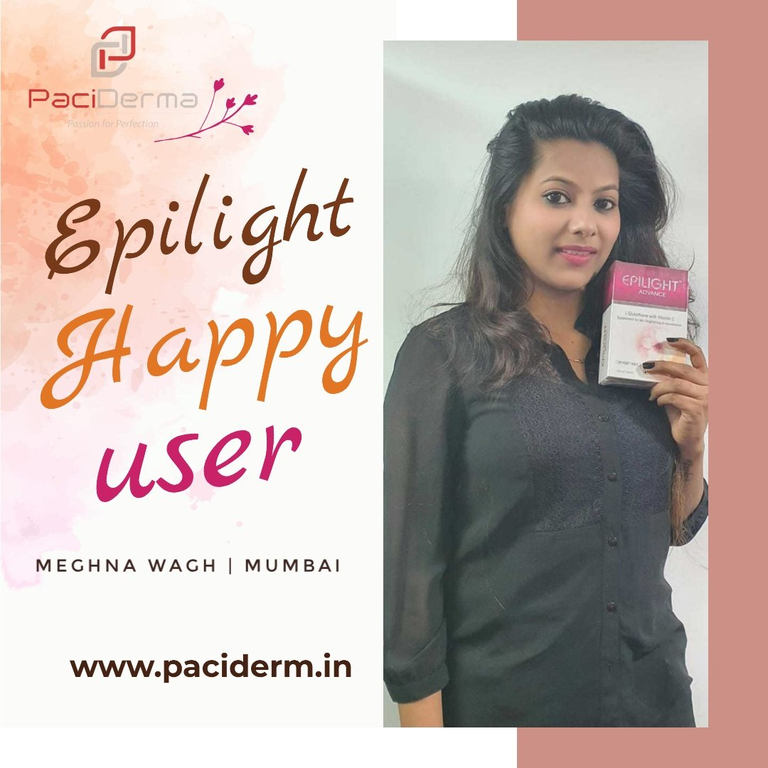 Happy User EpiEPILIGHT Advance   No. 1 and first Glutathione Brand  #japanesecollaboration #skinlightening #skinbrightening #flawlessskin #antioxidants #vitaminc #mosttrusted #mostrecommended  #timetested #paciderma_skincare https://t.co/MOxZ8BxYFf