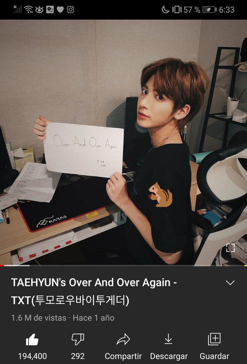 Casi nunca dejo mis capturas pero hoy sí, no se olviden de hacerle st3am a esta obra de arte🥺   #TaehyunStreamingParty  @TXT_bighit @TXT_members #TXT_TAEHYUN #태현