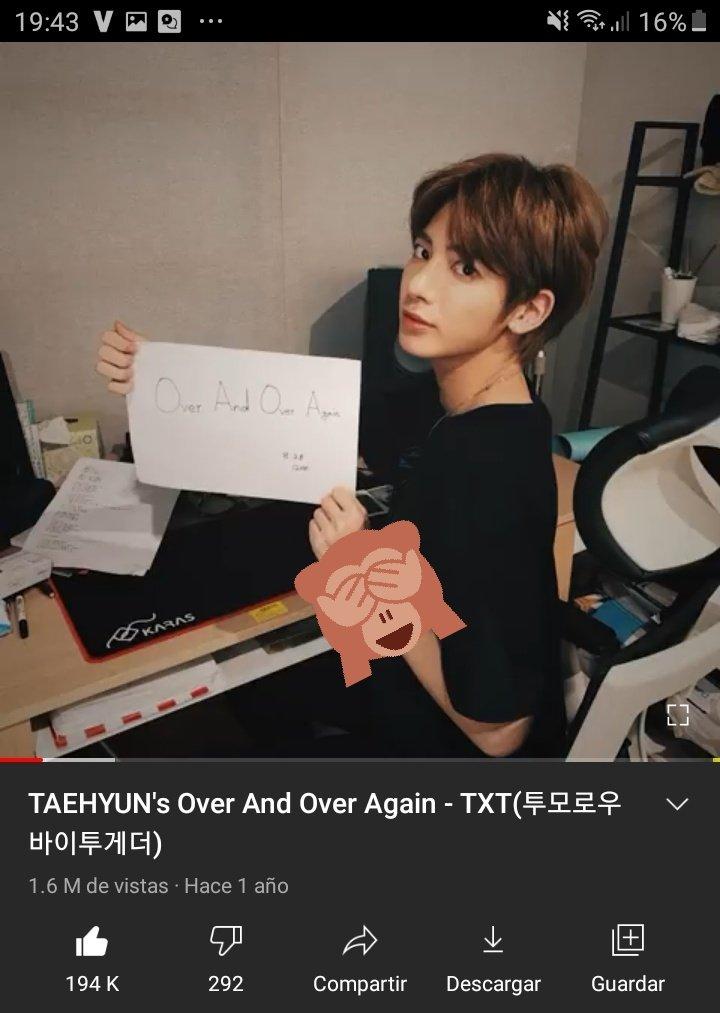 hola, les recuerdo que el cumple de taehyun es la otra semana y debemos llegar a los 2M. ayuden♡ #TaehyunStreamingParty #Taehyun #태현 #투모로우바이투게더  @TXT_bighit @TXT_members