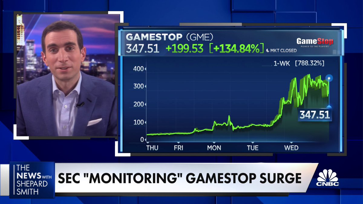 """At some point this is going to unravel,"" @andrewrsorkin says about the GameStop mania, adding that this is a ""unique situation"" for regulators to address.  ""If there are real losers in this, they will likely be the retail investor."""