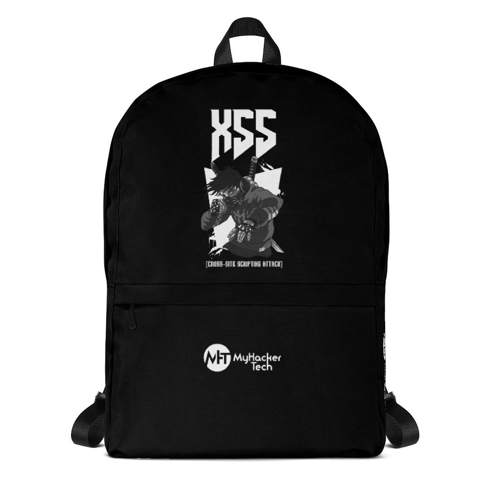 😍 XSS cross-site scripting attack - Backpack 😍  by @myhackertech. sudo apt-get now 👉👉   #myhackertech #cybersecuirty #hacker #hacking #swag #linux