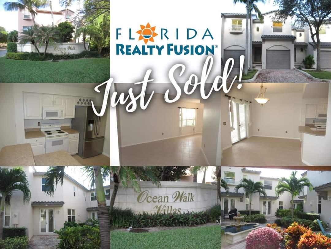 JUST SOLD: Ocean Walk Villas, Lauderdale-by-the-Sea. ☎️954-674-1869 📧homes@floridarealtyfusion.com #lauderdalebythesea #beach #vacationhome #townhouse #justsold #realestate #realtor #soflorealtor #fusion #florida #thehustler #proudbroker #experiencethefusion #floridarealtyfusion