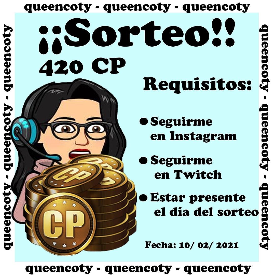 #twitch #TwitchStreamers #twitchgamer #twitchgaming #twitchgirls #TwitchDE #SORTEO #CoDMobile #CODm #CallofDuty #CallOfDutyMobile Todos pueden participar, solo sigan los requisitos en mi cuenta de Instagram como queencoty21 y listo estarán participando por 420CP.