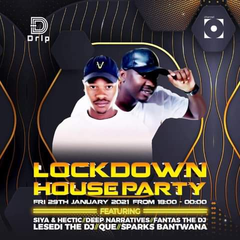 #LockdownHouseParty  #DripFootwear  I can't wait for Siya & Hectic 🤟🏾 CooperSa 🤟🏾 #Max